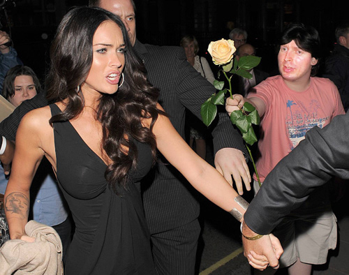 Megan Fox & White-ra