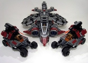LEGO Banshee and Hellions