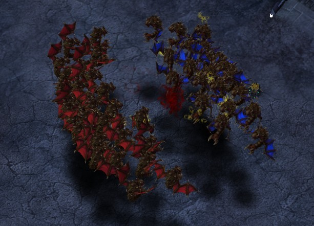 Mutalisk war in HotS